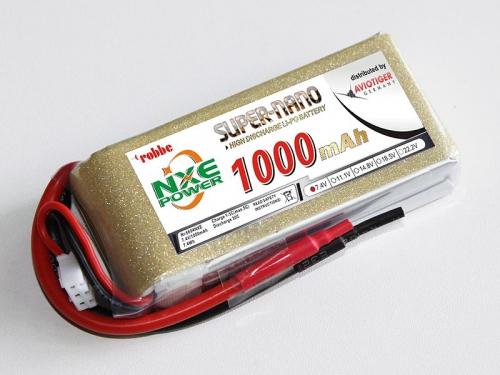 LiPo Akku robbe NXE-Power Evo 2S1000/30C Robbe 6604NXE