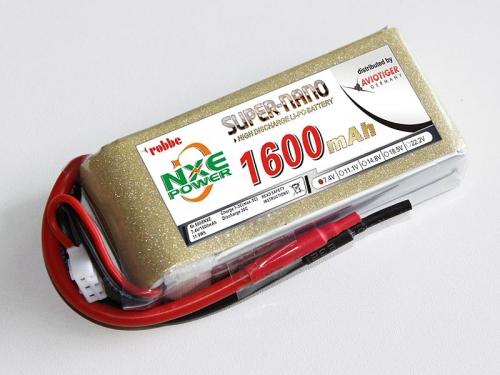 LiPo Akku robbe NXE-Power Evo 2S1600/30C Robbe 6608NXE