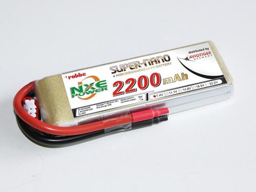LiPo Akku robbe NXE-Power Evo 2S2200/35C Robbe 6612NXE