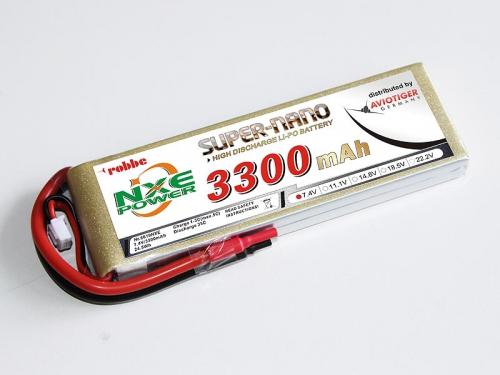 LiPo Akku robbe NXE-Power Evo 2S3300/35C Robbe 6619NXE