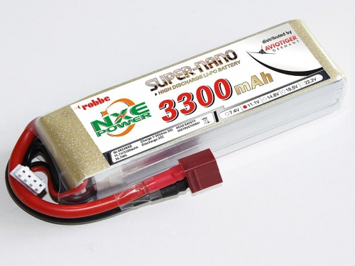 LiPo Akku robbe NXE-Power Evo 3S3300T/35C Robbe 6624NXE
