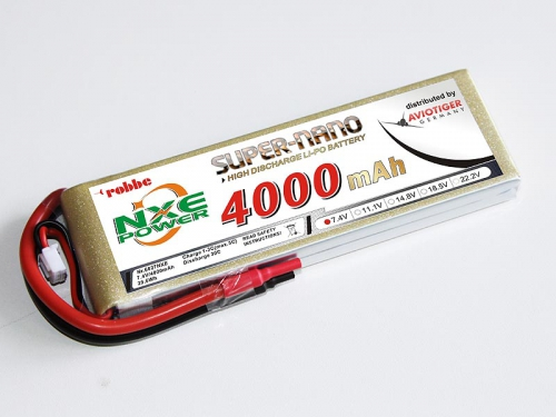 LiPo Akku robbe NXE-Power Evo 2S4000/30C Robbe 6627NXE