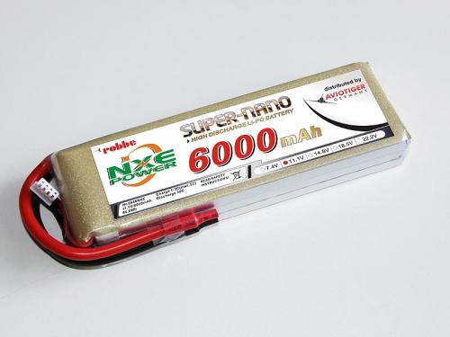 LiPo Akku robbe NXE-Power Evo 6S5000/35C Robbe 6640NXE