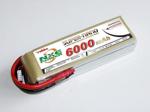 LiPo Akku robbe NXE-Power Evo 4S6000/30C Robbe 6647NXE
