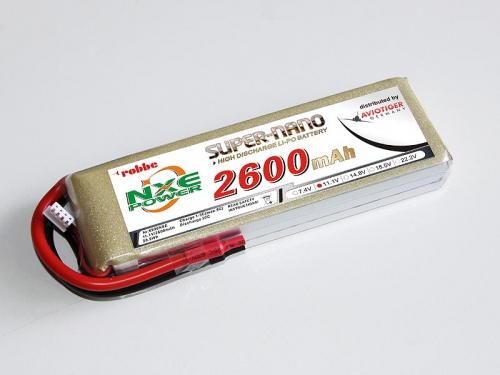 LiPo Akku robbe NXE-Power Evo 3S2600/20C Robbe 6990NXE