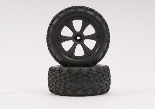Dessert Assault Reifen und Felgen 1 Paar Robbe BS214-009