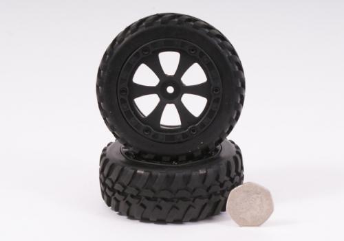 Felge und Reifen Storm 1 Paar Robbe BS709-002-T