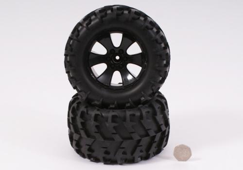 Felgen und Reifen Mini Spike Schwarz 1 Paar Robbe BS904-014
