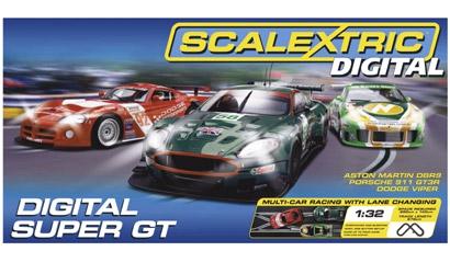 Digital Super GT (3 cars) Carson 1201