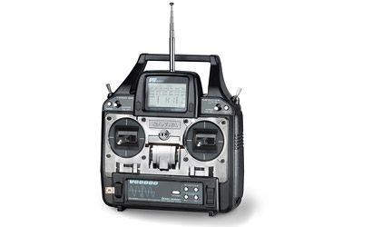 Sanwa VG 6000,40 MHz,Mode1 Carson 13769