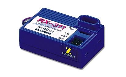 3-K.EMPFÄNG.RX311 40MHZ FM Carson 13932
