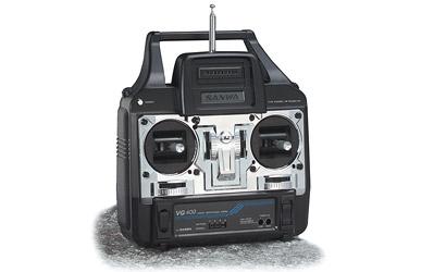 Sanwa VG 400,40MHz,4Kan.Knü Carson 13948
