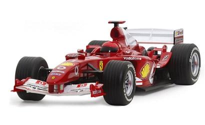 Ferrari F2004 No.1 Carson 2676D