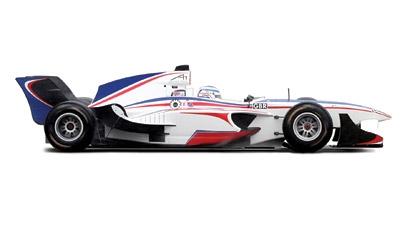A1 GP Car 1 Carson 2706D