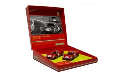 Ferrari 330 P4 rot Nr.3+ Carson 2770A