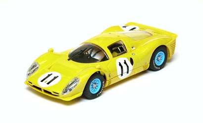 Ferrari 330 P4 Yellow Carson 2787