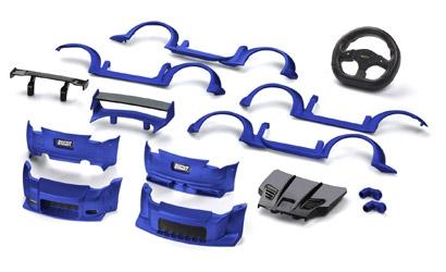 Body Kit EVO Niss.350Z blau Carson 408055