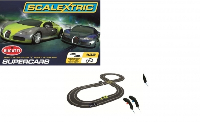 SCALEXTRIC Super Cars Set Carson 1297 500001297