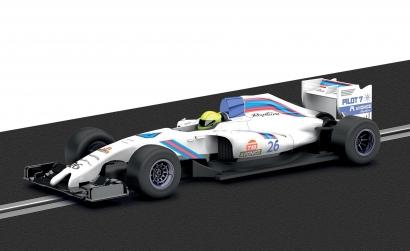 1:32 GP Racer Car 1 Weiss 2014 Carson 3597 500003597