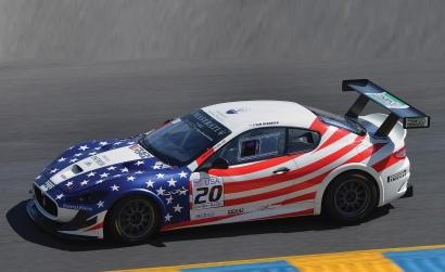 1:32 Maserati Trofeo #20 Stars&Stripe HD Carson 3603 500003603