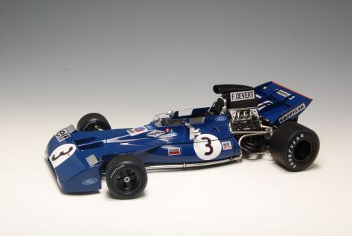 1:20 Tyrrell 003 1970 German GP EBBRO Carson 20008 500020008