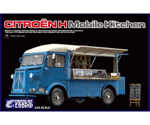1:24 Citroen H mobile Kitchen Carson 25008 500025008