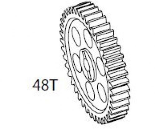 Hauptzahnrad 2x CV-10T Carson 105185