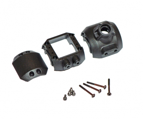 1:10 MC-10 Getriebegehäuse vo/hi Carson 405788 500405788