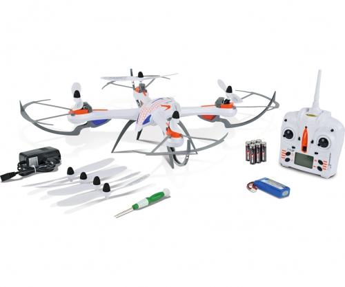 X4 Quadcopter 550, 2,4G, 100% RTF Carson 507099 500507099