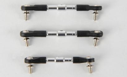 DF-02 Spurstangen-Set, einstellbar (3) Carson 530616 500530616
