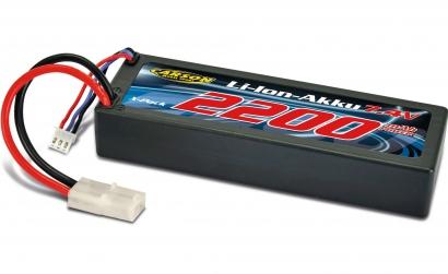Li-Ion Akku 7,4V/ 2200mAh Carson 608152 500608152