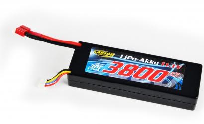 LiPo-RP-11,1V-3800mAh-30C-T-Plug Carson 608331 500608331