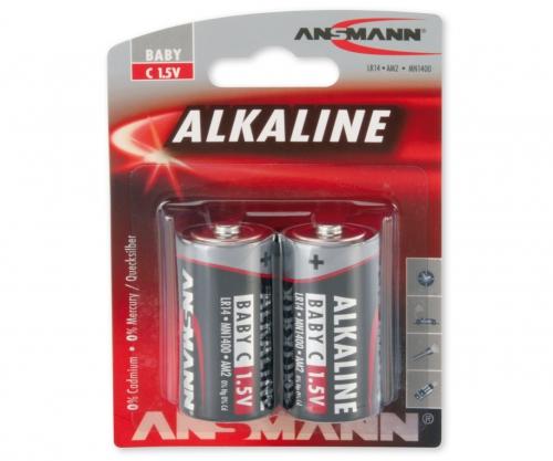 Batterie Set Baby/C 1,5V (2) Carson 609046 500609046