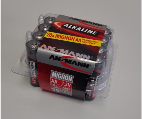 Batterie Box Mignon/AA 1,5V (20) Carson 609050 500609050