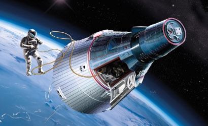 1:72 Gemini Spacecraft w/Skywalker Carson 711013 500711013