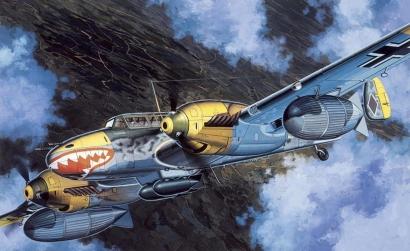1:48 Bf110D-3 (WING TECH) Carson 725555 500725555