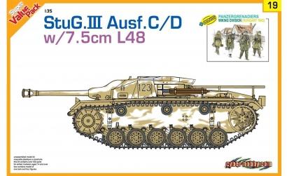 1:35 StuG.III Ausf.C/D 75mm StuK 40 L/48 Carson 729119 500729119