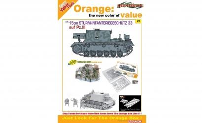 1:35 15cm Sturm-Infant.Geschütz 33 PzIII Carson 729123 500729123