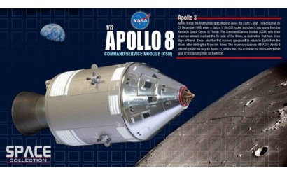 1:72 NASA Apollo8 Command&Service Module Carson 750378 500750378