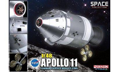 1:48 Apollo 11 Command Service Module Carson 752503 500752503