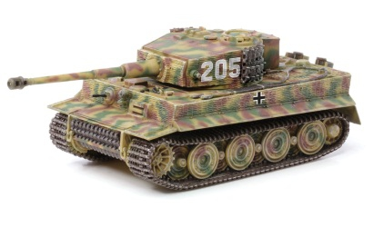 1:72 Tiger I Late Production 2./SS-PZ. Carson 760543 500760543