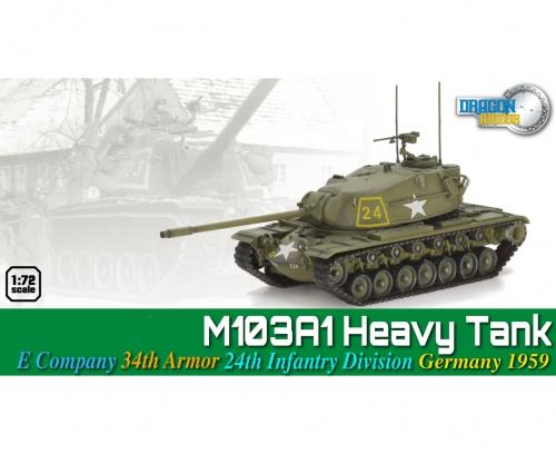 1:72 M103A1 Heavy Tank Carson 760691 500760691