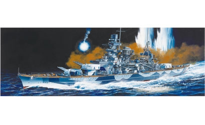 1:350 German Battleship Scharnhorst Carson 771040 500771040