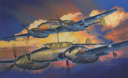1:32 BF-110D/E  Night Fighter (2in1) Carson 773210 500773210