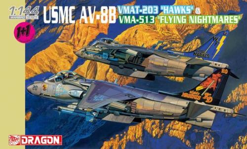 1:144 USMC AV-8B HAWKS&FL.NIGHTM. Carson 774617 500774617
