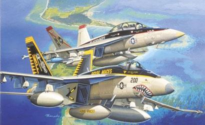 F/A-18E VFA-27 Royal Mace 1/144 & Carson 774618 500774618