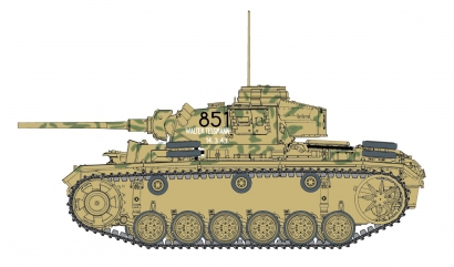 1:35 Pz.KPFW.III Ausf.L Late Production Carson 776387 500776387