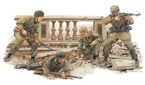Monte Cassino Defenders 1944 Carson 776514 500776514