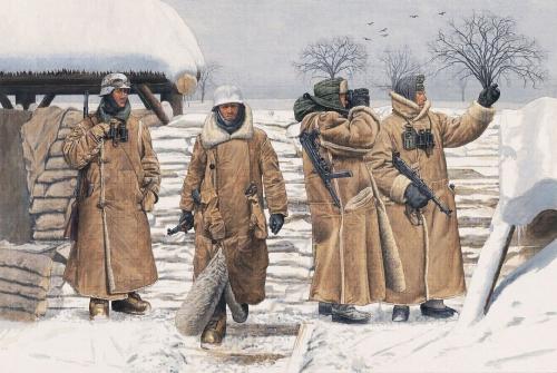 German Infantry in Wachtmantel Carson 776518 500776518