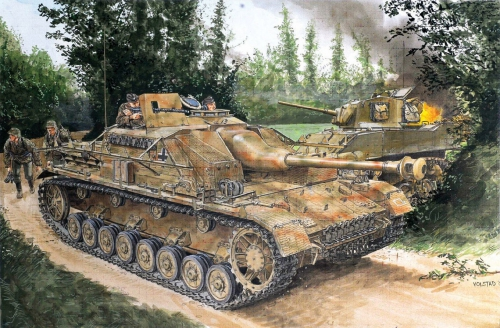 1:35 Stug.IV Early Production Carson 776520 500776520